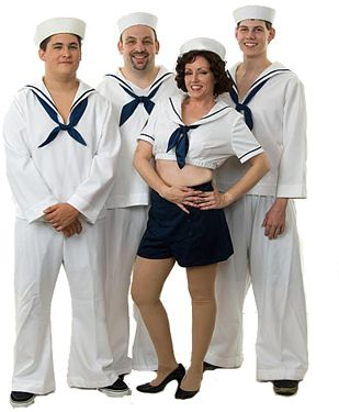 Anything Goes Group Costume