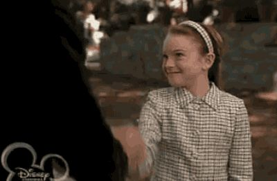"Her handshake with Martin was the best handshake in the history of handshakes. | 23 Reasons Annie Was The Cooler Twin In ""The Parent Trap"""