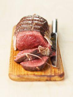 Roti de boeuf Cuisson : mesurer le tour de rôti et ajouter 1cm pour avoir le temps en minutes pour une cuisson rosée saignante !