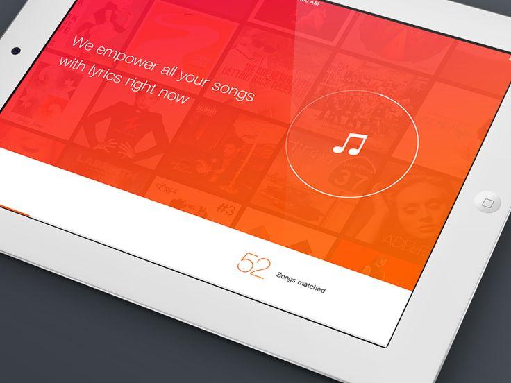 Music library scan for iPad / Nicola Felaco