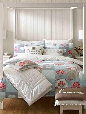 This would make for a beautiful Guest bed set! Hattie king duvet cover Kirstie Allsop