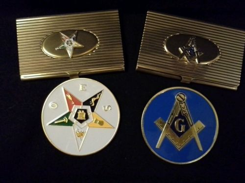 74 best oes images on pinterest eastern star freemasonry and masonicoes card holders and car badge gift set order of the eastern star reheart Image collections