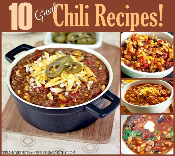 Celebrate National Chili Day with 10 great recipes!