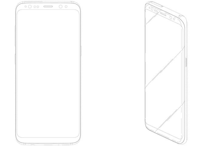 Galaxy S8-Like Samsung Phone Patented With Infinity Display #Android #Google #news