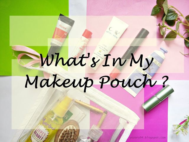 Ell's Beauty Diary ☁: What's In My Makeup Pouch?