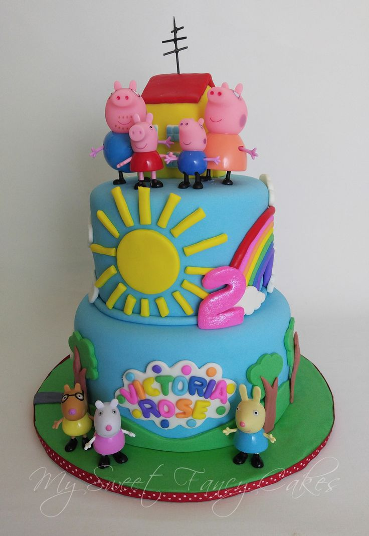 My Sweet Fancy Cakes: Peppa Pig Cake