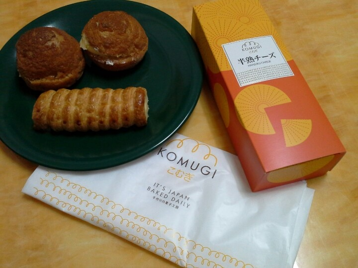 cream puff from komugi. taste good.