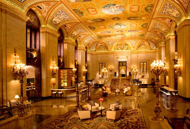 Chicago's Palmer House Hilton is a historic hotel that's worth a stay.
