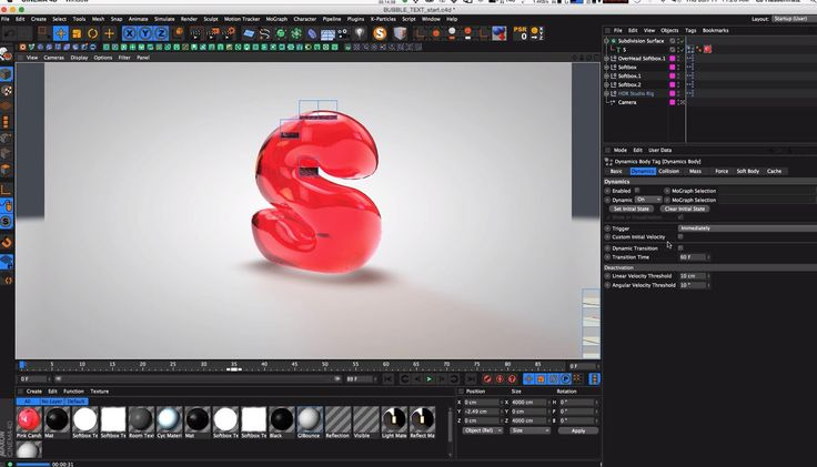 Creating Bubble Text in Cinema 4D | CG Tutorials library