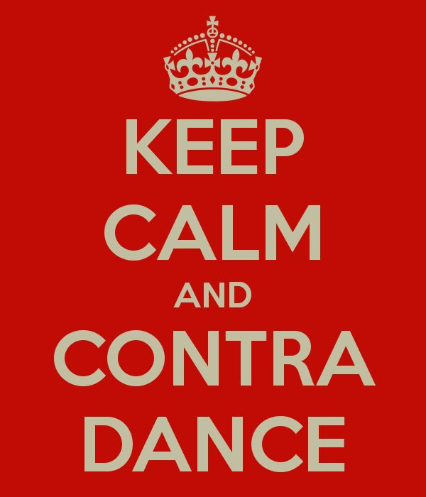 I love contra dancing, even though I don't do it any more.