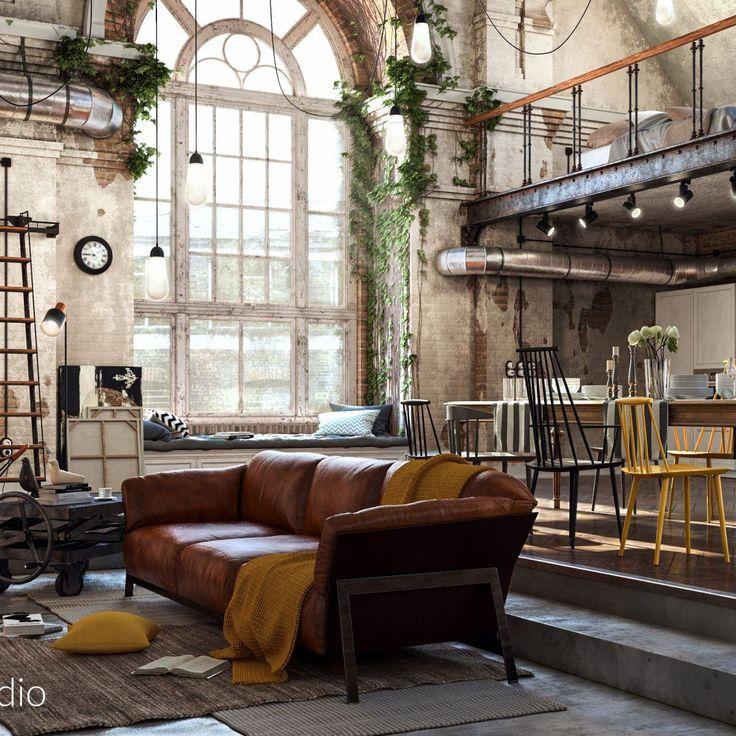 die besten 25 loft umbauten ideen auf pinterest. Black Bedroom Furniture Sets. Home Design Ideas