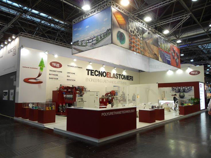 K - Messe Düsseldorf. TECNOELASTOMERI. Ricerca, analisi, promozione e comunicazione. Progettazione e realizzazione dell'allestimento dello stand. Photo by honegger