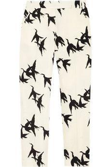 Tibi: Straight Legs Pants, Prints Pants, Paloma Crop, Printed Pants, Tibi Paloma, Crop Prints, Prints Straight Legs, Tibipaloma, Straightleg Pants
