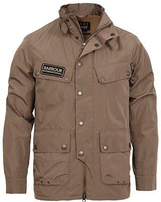 Barbour International Rainton Polyester Jacket Military