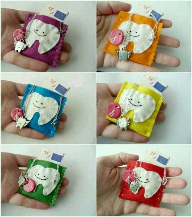 Pin By Artby Ma66 On Crafts Tooth Fairy Pillow Diy Gifts For Dentist Tooth Fairy Bag