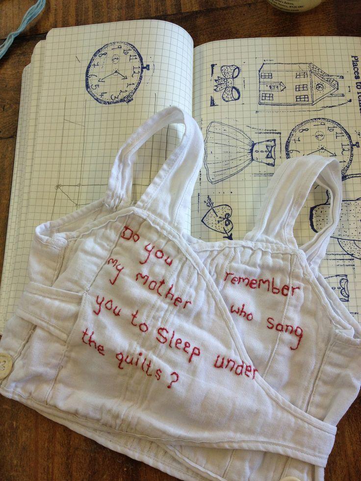 Stitching with Jessie Chorley