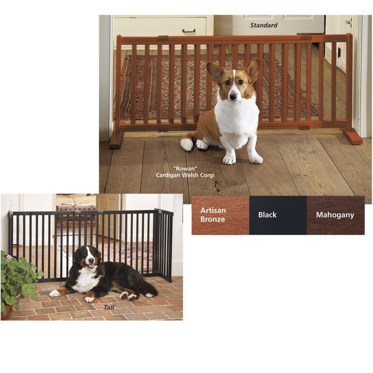 30 Inch Freestanding Gate - Dog Beds, Dog Harnesses and Collars, Dog Clothes and Gifts for Dog Lovers | In The Company Of Dogs
