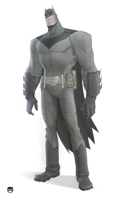 Cool Batman Character Redesign by Kizer Stone — GeekTyrant