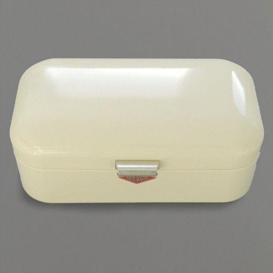 1940's enamel bread bin www.apartmentapothecary.com