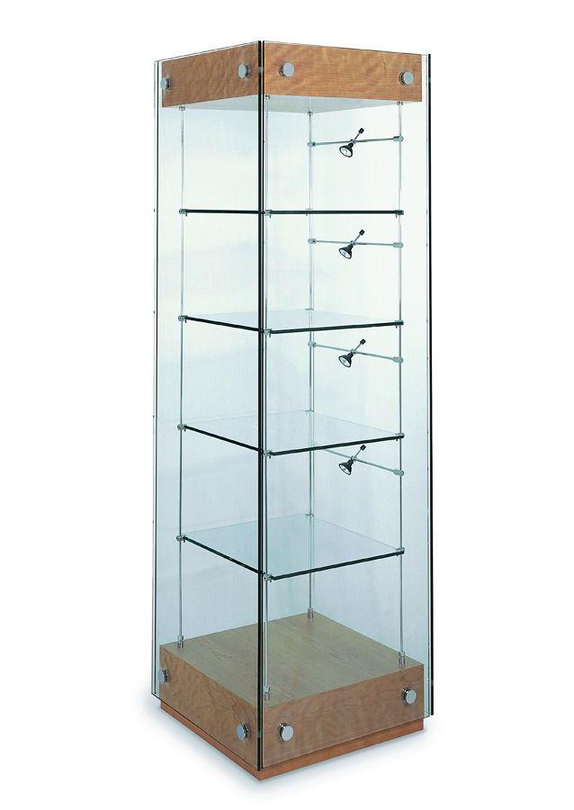 Resultado de imagen para vitrina de cristal mi casa y - Vitrinas empotradas en pared ...