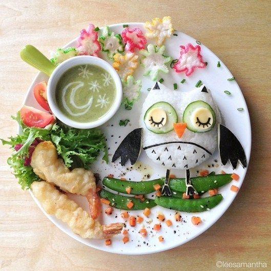 Jaw Dropping Food Art from Samantha Lee - You're gonna love these!