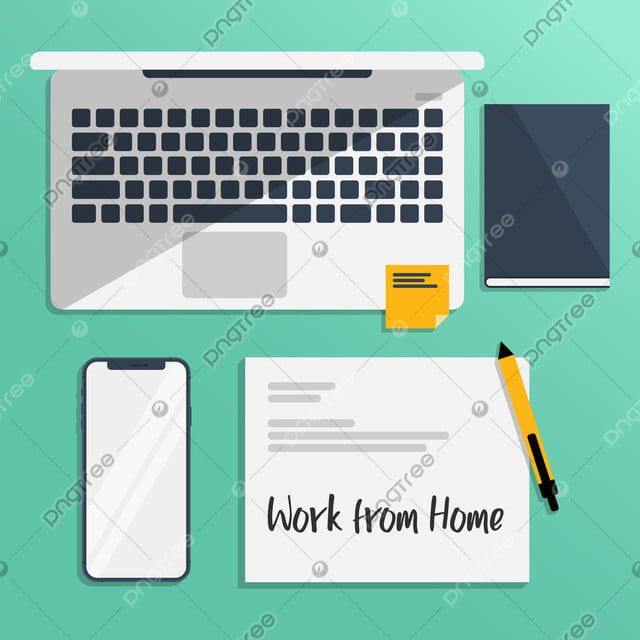Laptop Smartphone On Work Desk Office Table Business Png And Vector With Transparent Background For Free Download In 2020 Work Desk Notepad Creative Business Desk