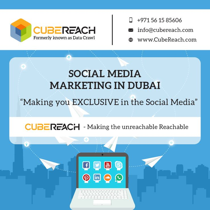 For top quality Social Media Marketing services for getting more customers you can contact us on
