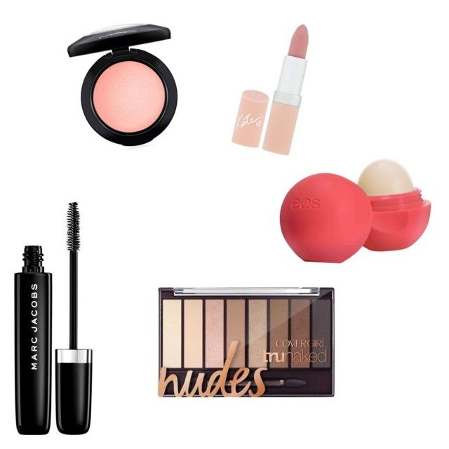 """""""6th grade makeup"""" by ciaobella1234 on Polyvore featuring beauty, Rimmel, Marc Jacobs, Eos and MAC Cosmetics"""