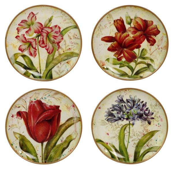 I Pinned This 4 Piece Botanique Plate Wall Art Set From The Street Designs Event At Josain By Cecelia