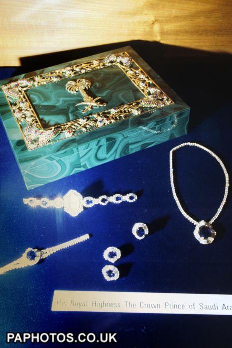 Princess of Wales wedding presents from the royal house of Saudi Arabia - Asprey