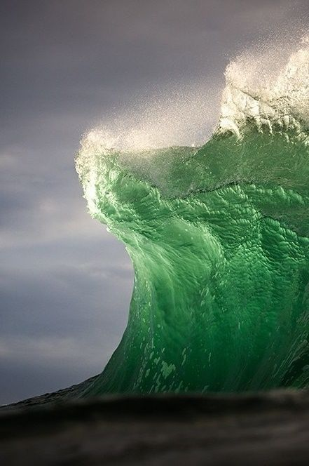 """""""A wave, an awesome wave, That rushes skin and widens in blooded veins."""""""
