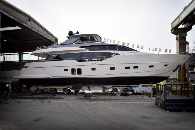 Sanlorenzo launch two superyachts: 27m M/Y STAE and 29m M/Y B&B