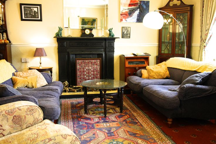 Guest sitting room in Kincora House