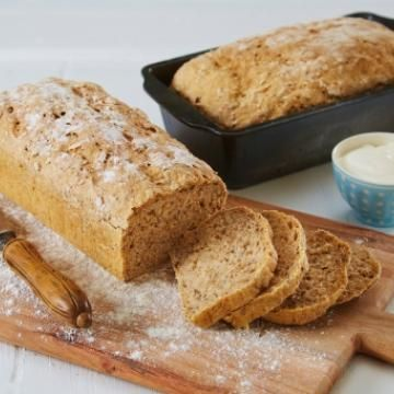 Oppskrift på Grovt brød med Kesam