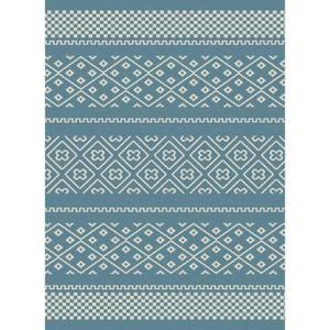 COSI Tapis de salon 160x230 cm bleu