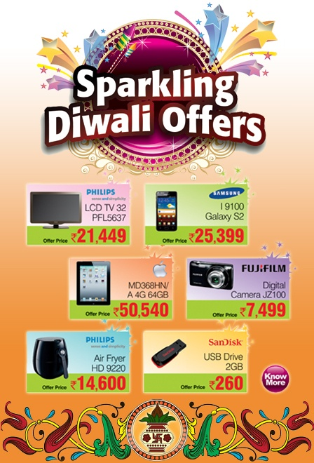 Colourful offers to Celebrate This Diwali!