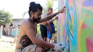 La revolución será una fiesta o no será: Policromia 1.5 Festival de Arte Urbano