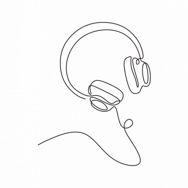 Dibujo Lineal Continuo Auriculares Tema Musical Ilustracion Vectorial Diseno Minimalista Clipart De Musica Vector Ilustracion Png Y Vector Para Descargar Gra Dibujo Minimalista Ilustracion Vectorial Dibujo Lineal