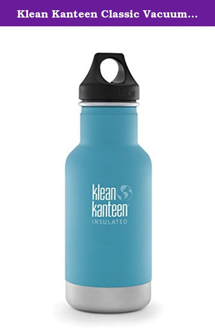 Klean Kanteen Classic Vacuum Insulated Water Bottle Quiet Storm with Loop Cap, 12-Ounce. The bottle that launched Klean Kanteen 10 years ago is now available in insulated. We've combined our original, iconic, Classic bottle with high-performance, double-wall vacuum insulation to create our most versatile bottle ever.