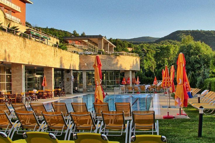 A Thermal Hotel #Visegrád ****superior a festői szépségű Dunakanyarban, Visegrád mellett, nyugodt, barátságos környezetben helyezkedik el, a Pilisi Parkerdő szomszédságában, Budapest belvárosától mindössze 40 kilométerre. A négycsillagos superior szálloda teljes körű kényelmet és első osztályú szolgáltatásokat nyújt a felfrissülni, pihenni vágyó wellness vendégek és az ideális környezetet kereső konferencia résztvevők számára.