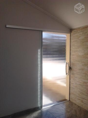 Porta de Correr 1 Folha em Vidro Temperado - R$