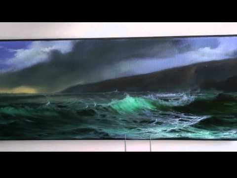 PAINTING A PANORAMIC SEASCAPE IN OILS BY ALAN KINGWELL