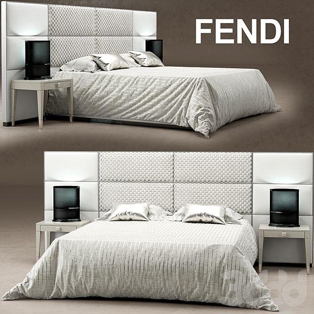 Кровать Regent Bed Fendi Casa