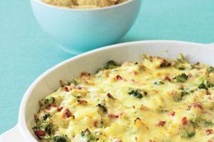 Zesty Hot Holiday Broccoli Dip:)