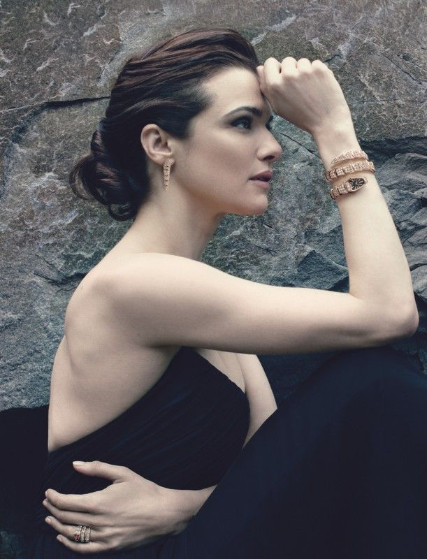 Rachel Weisz for Bulgari. Photo to Annie Leibovitz.