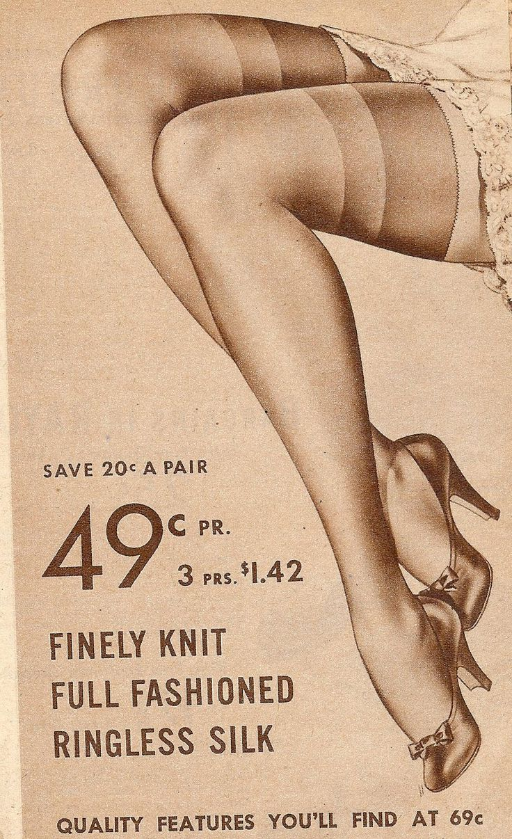 Free Vintage Image - 1940's Stocking Legs