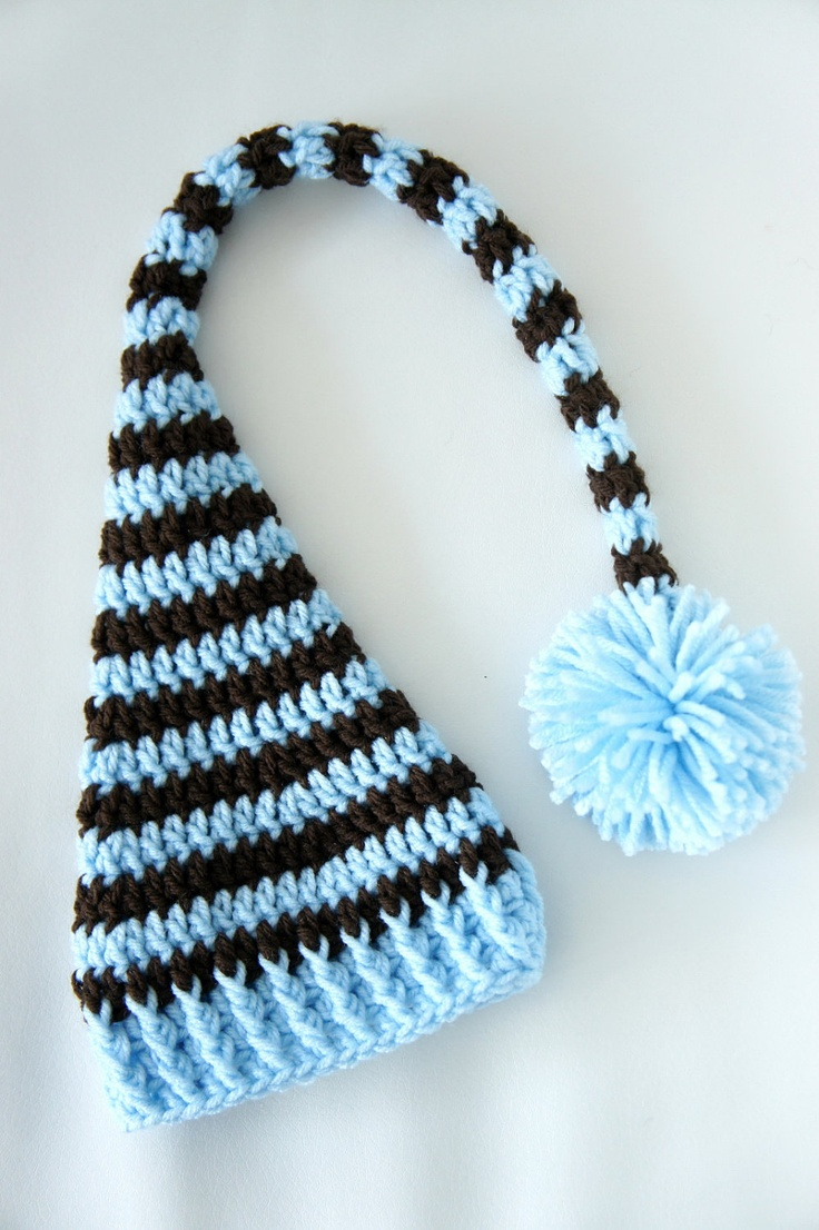 34 best Baby Hats - Knit Elf Tails images on Pinterest | Baby hats ...
