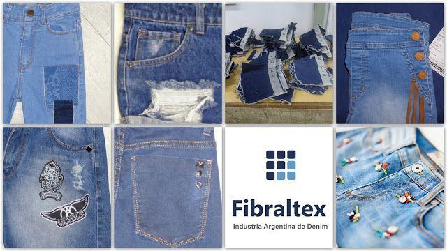 FIBRALTEX: Tejidos Denim y Looks 2017