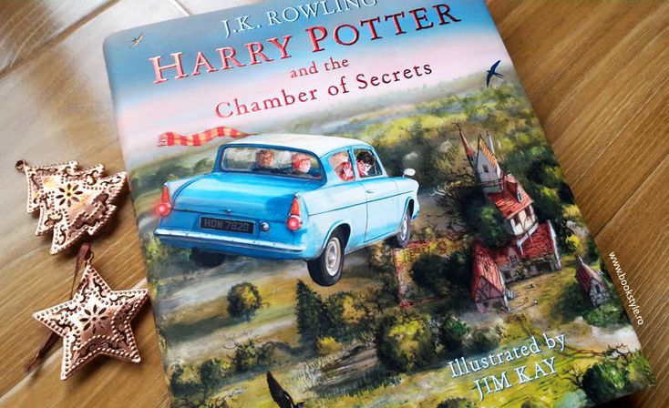 Harry Potter and the Chamber of Secrets. Illustrated edition – Harry Potter și Camera secretelor. Carte ilustrată