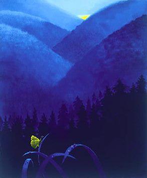 Le papillon jaune Claude Theberge